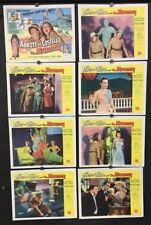 Abbott and Costello Meet The Mummy Lobby Card Set 1955     *Hollywood Posters*