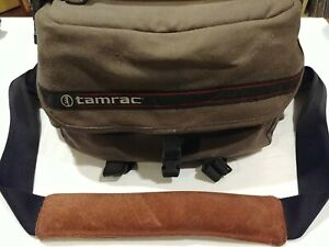 Vintage Tamrac 606 - Grey - Padded With Film Pouch - Inside And Outside Pockets
