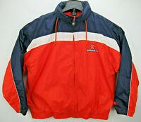 Vintage Starter Illinois Fighting Illini Men's Size XL Windbreaker Jacket Hooded