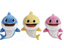 Baby Shark Puppets Mommy Daddy Baby Tempo Interactive Plush Toy Set Of 3