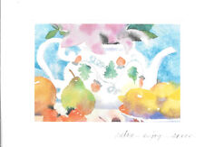 Strawberry Teapot Hot Tea & Fruit Relax Blank Note Cards By Hallmark - Set of 10