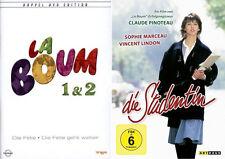 LA BOUM DIE FETE 1 + 2 + Die Studentin  SOPHIE MARCEAU COLLECTION 3 DVD Neu