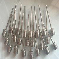 10Pcs Inflating Needle Pin For Football Soccer Ball Basketball Air Pump Tools