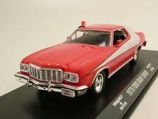 "Ford Gran Torino 1976 ""Starsky & Hutch"" rot/weiß, Modellauto 1:43 / Greenlight"