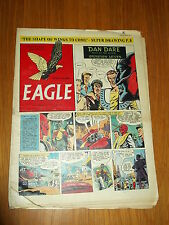 EAGLE #13 VOL 5 26TH MARCH 1954 BRITISH WEEKLY DAN DARE SPACE ADVENTURES