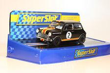 SCX Scalextric Slot SuperSlot S3586C Mini Cooper Touring Car Legends Nº2 1964