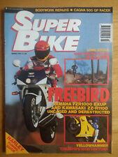 SuperBike Magazine - MAR 1993 - EXUP - 1200 DAYTONA - CAGIVA 500 - BMW K1