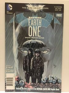 DC Comics Batman Earth One Special Prevew Issue  #1