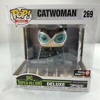 Funko POP! Heroes Catwoman #269 Jim Lee DC Super Villains Deluxe GameStop Exclus