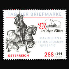 Austria 2017 - Day of the Stamp 2017 Horse Military - MNH