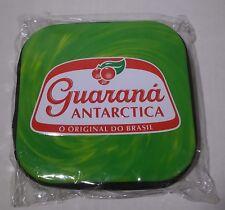 New In Plastic Guaraná Antarctica Brazil CD storage Travel Case Holds 24 Disks