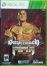 Supremacy MMA (Microsoft Xbox 360, 2011, Rated M) 505 Games Tested Guaranteed