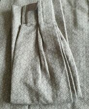 John Lewis MTM Loha Double Pinch Pleat Lined Curtains in Grey