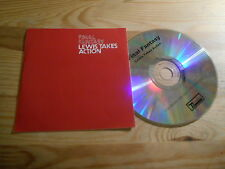 CD Indie Final Fantasy - Lewis Takes Action (2 Song) Promo DOMINO REC