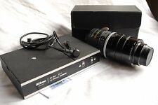 Nikon Medical-Nikkor C AUTO 200mm f/5, 6, parte batteria DC-Unit ld-1