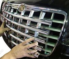 1PC ABS CHROME GRILLE GRILL OVERLAY FITS 2005-2010 CHRYSLER 300 300C