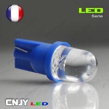 2 AMPOULE BIG LED T10 CONVEXE CULOT W5W W3W W2,1x9.5D 194 501 BLEU XENON 60° 12V