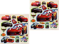 3D Scrapbooking Disney Characters Stickers Lightning McQueen Racing Car 2 Sheets