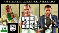 GTA 5 Premium Edition GRAND THEFT AUTO 5 PC  EPIC GAMES