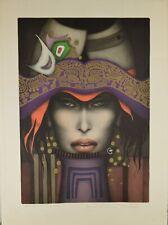 Jef Van Tuerenhout (1926-2006) Lithographie en couleurs Epreuve d'artiste
