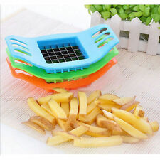 French Fry Potato Chip Cutter Vegetable Fruit Slicer Chopper Chipper Blade KY