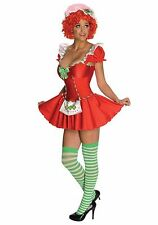 Raggedy Ann DELUXE ADULT SEXY STRAWBERRY SHORTCAKE COSTUME Size S, M