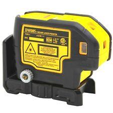New Dewalt Dw085k 5 Beam Self Leveling Laser Pointer With Hardside Case