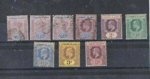 LEEWARD ISLANDS - Lot of old stamps