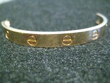 Cartier Half Love Bracelet 18k Yellow Gold