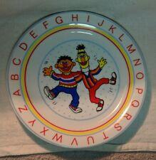 Sesame Street Ernie Bert Muppets Alphabet Porcelain Plate JMP Marketing Japan