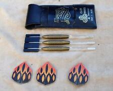 Harrows Pure Dartsmanship Club Brass set 3 Darts 16g original package UK RARE!!!
