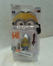 DESPICABLE ME - Medieval Minion Action Figure Unopened Posable Thinkway Toys New