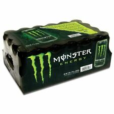 Fresh Pack Of 24 Monster Energy Drink 16Oz Cans New Gift