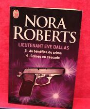Lieutenant Eve Dallas 3 et 4 - Nora Roberts - Livre grand format - Occasion