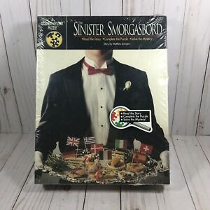 Vintage Sinister Smorgasbord Golden Mystery Puzzle 500 Pc Sealed