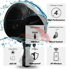 300W Amp Bluetooth Motorcycle Audio Stereo Speakers System Honda Yamaha Kawasaki