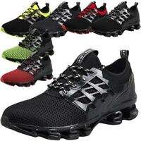 Mens Blade Sports Shoes Sneakers Athletic Trainers Big Size Hiking Springblade