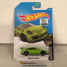 Porsche 911 GT3 RS #117 * Green * 2017 Hot Wheels FACTORY SET Edition