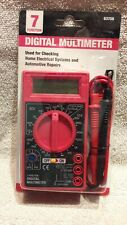 Digital Multimeter 7-Function Multi-Tester Test Equipment Meter 63604