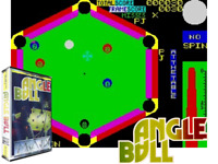Sinclair ZX Spectrum 48K Game - ANGLE BALL - Mastertronic - Tested & Working