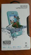 NEW Authentic LifeProof    NÜÜD  Waterproof Case for iPhone 7  Teal