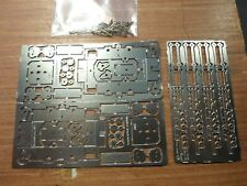 Etched Nickel-silver OO9 chassis kit suitable for 4-coupled articulated locos