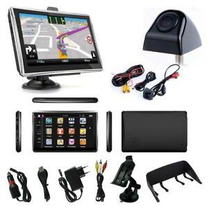 7 Zoll Navigationsgerät für LKW PKW GPS Auto Navi mit Rückfahrkamera mit Blitzer