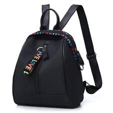 Super Mini Women's Backpack Travel School Ladies Black Shoulder Bag Handbags