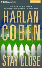 STAY CLOSE unabridged audio book on CD by HARLAN COBEN - Brand New - 11 Hours!