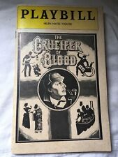 The Crucifer Of Blood Playbill 1970s Helen Hayes Theatre Used Condition
