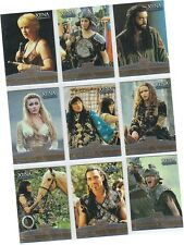 "Xena The Warrior Princess Seasons 4 & 5 - 9 Card ""Allies"" Set F1-F9"