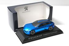 1:43 norev peugeot Instinct concept Blue dealer New en Premium-modelcars