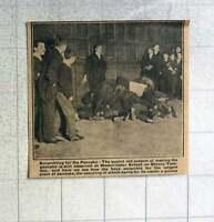 1921 Scrambling For The Pancake Westminster School Shrove Tuesday