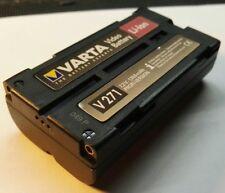 Varta v271 Batterie Pour PANASONIC, JVC, hitachi batterie 7225 VW b202 vbd1e Lithium